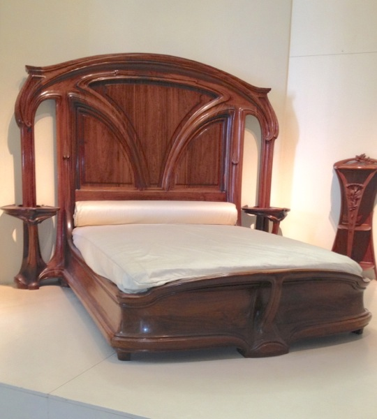 Art Nouveau Bedroom: The Antique Warehouse Blog