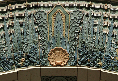 Detailed close ups of the Marine Building show just exactly how fine the detail is this iconic Vancouver Building.