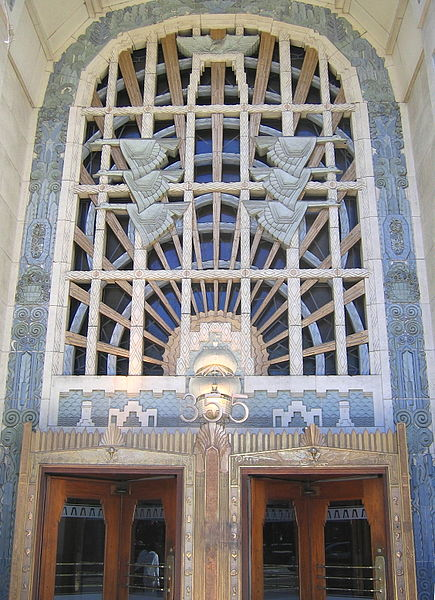 The Marine Building in our own beautiful city of Vancouver is a fine example of Art Deco at it's best.