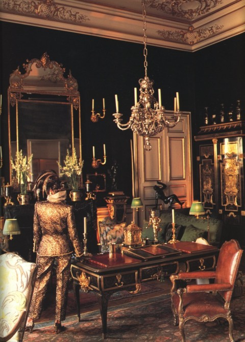 Givenchy's Paris Apartment on Rue Grenelle. (This street has one of my favorite restaurants of all time)