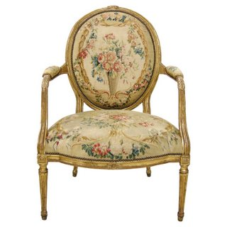 Characterized by the straight leg and lack of curves the Louis XVI chairs is as popular today as it was the day it was created back in the late 1700's.