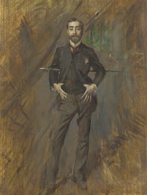 The artist Giovanni Boldini (1842 - 1932)