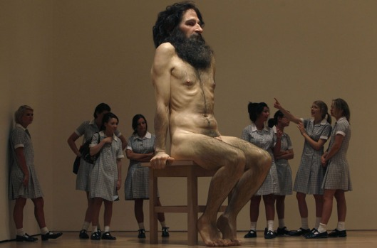 'Wild Man' by Ron Mueck