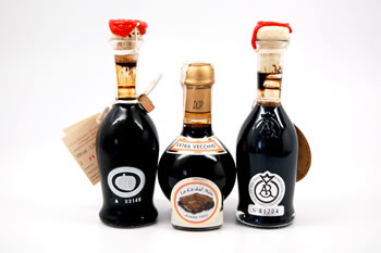 There's at least 50 different types of balsamic vinegars of all sizes and prices.