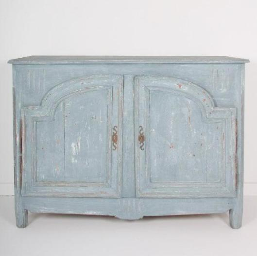 A painted 19th Century Cabinet from Aix en Provence. C.1800.